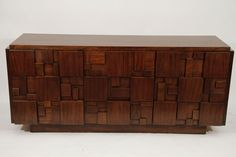 Lane Mosaic Dresser | From a unique collection of antique and modern dressers at https://www.1stdibs.com/furniture/storage-case-pieces/dressers/