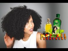 Hot Oil Treatment For Frizzy And Dry Natural Hair [Video] - Black Hair Information Community