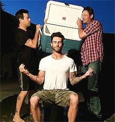 Adam Levine #ALS challenge