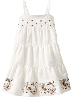Image detail for -Baby Clothing Baby Girl Clothing Embroidered butterfly dress Toddler 1 . My Little Girl, My Baby Girl, Pretty Dresses, Beautiful Dresses, Smocked Baby Clothes, Vintage Baby Clothes, Butterfly Dress, Camila, Toddler Dress