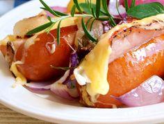 Zajímavé! Cheesesteak, Baked Potato, Brunch, Potatoes, Dinner, Baking, Ethnic Recipes, Easy, Dining