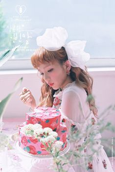 "Updated May 25 KST: Baek A Yeon has now released a video of herself singing parts of each of the six songs on her upcoming release ""Bittersweet."" The secon Baek A Yeon, Korean Celebrities, Celebs, Lee Sung Kyung, K Pop Star, Saddest Songs, Pink Parties, Korean Artist, Queen"