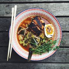 "Anyone else up for #Ramen Monday? Blackened Miso Salmon Ramen by @saltbyjames. This is a super quick & easy #recipe! http://feedfeed.info/list/post?id=669266 Get the recipe and 30+ more similar recipes from the Noodle Soup Feed on our WEBSITE, feedfeed.info/noodlesoups ⭐️Remember to share your cooking, baking, and drink making by tagging ""#feedfeed @thefeedfeed"" for a chance to be featured here and on our site!"