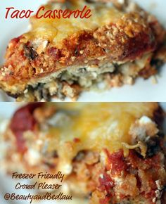 Taco Casserole ... quick & easy meal.