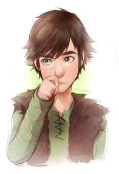 Hiccup ~ kanapy-art on deviantart   This is so cute!!!