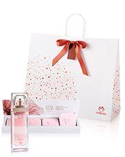Presente Natura Esta Flor Rosa - Deo Parfum + Sabonetes em Barra + Embalagem