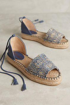 Splendid Edna Espadrilles Blue Motif 6 Flats