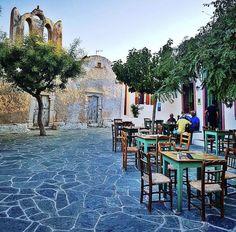 Folegandros Greece Greek Design, Al Fresco Dining, Concrete Patio, Travel Goals, Greek Islands, Coffee Shop, Places To Go, Destinations, Turkey