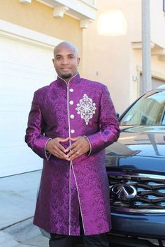 cbb7904452 African men's purple Royal Suit by AFRICANISEDSHOP on Etsy https://www.etsy