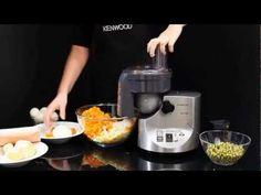 Нарезка кубиками салата Оливье на Мясорубке KENWOOD - YouTube