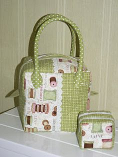 sweet little sewing bag