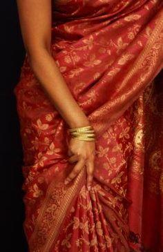 How to Make a Sari at Home