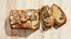 The intense, savory sesame flavor balances out the sweetness of the loaf for an addicting snack or dessert.