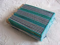interesting blog - she weaves on pin looms and primitive cardboard looms. Ruth's weaving projects: January 2014