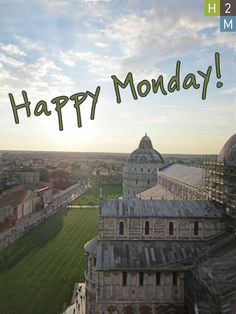 Happy Monday! Our very own Staff Architect Katie Cerniglia submitted this photo of a view from the top of the Leaning Tower of Pisa in Italy for our photo contest! Great photo Katie!