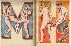 The Soviet erotic alphabet picture book from 1931 Images Alphabet, Alphabet Book, Punk Princess, Lost Art, Museum Of Fine Arts, Erotic Art, Illustrations Posters, Drawings, Letters
