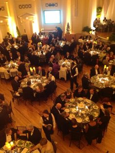 Dinner Party at Peabody