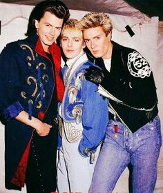 the crucial three Crush Love, Simon Le Bon, Tears For Fears, Amazing Songs, John Taylor, New Romantics, Great Bands, Good Looking Men, Pop Group