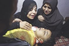 A mother's loss of her child in Gaza