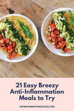 Get quick + easy meal ideas to stay satisfied and get the benefits of an anti-inflammation lifestyle. Healthy Foods To Eat, Healthy Cooking, Healthy Eating, Healthy Recipes, Easy Meal Plans, Quick Easy Meals, Big Meals, No Cook Meals, Stop Eating