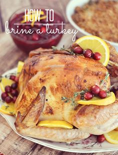 Brining a turkey is easier than you think Ill walk you through everything you need to know to brine and roast a turkey Kitchen Meets Girl Thanksgiving Turkey, Thanksgiving Recipes, Holiday Recipes, Dinner Recipes, Family Recipes, Christmas Desserts, Christmas Recipes, Lunch Recipes, Christmas Ideas