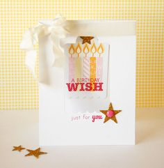 A Birthday Wish for You card by Dani at @Studio_Calico
