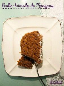 Budin Humedo de Manzana Sin Gluten