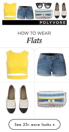 """minimalist"" by julietacelina on Polyvore featuring Sans Souci, Chanel, LE3NO and Prada"