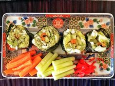 A customizable template for making Whole30-compliant, high protein sushi!