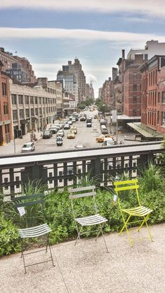 Bistro in NY High Line
