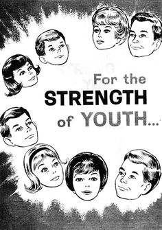 A fascinating look at what the guidelines and concerns for the youth were in 1965