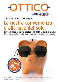 LECLERC, L'Ottico; Creatività della ABC, digital division: http://we-b.it