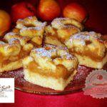 Omlós rácsos almás pite