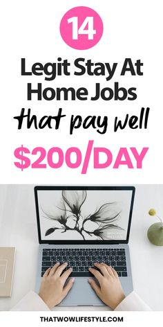 Money Discover 14 Legit Stay At Home Jobs That Pay Well Looking for side business or an extra income? This article will walk you through 15 amazing business ideas to make money online from home. Earn Money From Home, Make Money Blogging, Way To Make Money, How To Make, Money Fast, Money Today, Money Tips, Saving Money, Online Work From Home
