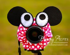 Lens Bling - Minnie Mouse- Ready to Ship. $21.00, via Etsy.