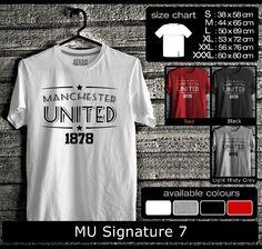Kaos Manchester United FootBall Club | Kaos Red Devil Mania 1
