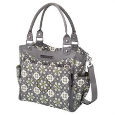 City Carryall Diaper Bag - Misted Marseille