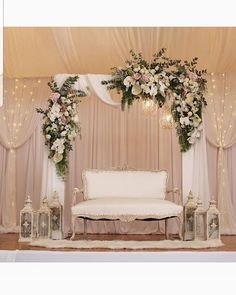 Wedding backdrop done by Decordacious Wedding Backdrop Design, Wedding Stage Design, Wedding Reception Backdrop, Wedding Stage Decorations, Engagement Decorations, Wedding Mandap, Backdrop Decorations, Wedding Designs, Wedding Ideas