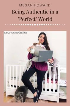 "It's okay to share the parts of your life that are not so pretty! Megan Howard of @NoFoMomma gets real about being authentic in a ""perfect"" world!   #momlife #beyourself #authentic Confidence Tips, Confidence Building, Self Development, Personal Development, Media Influence, I Want To Cry, First Daughter, Feeling Alone, Perfect World"