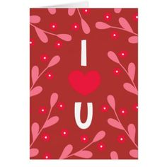 Personalized I Heart You Daisies Valentine's Day Card - valentines day gifts diy couples special day