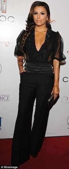 Eva Longoria    #celebrity #styles