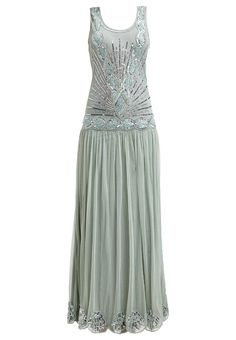 1920s great gatsby themed prom dress, Frock and Frill Occasion wear seafoam £185.00 AT vintagedancer.com