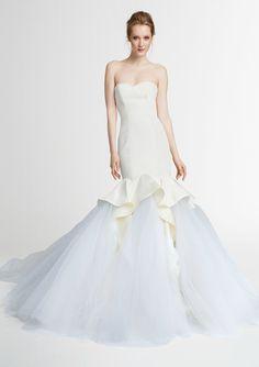 25 niet traditionele trouwjurken met kleur   In White