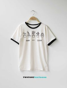 Plants Are Friends Shirt TShirt T-Shirt T Shirt Tee