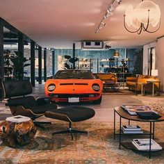 [New] The 10 Best Home Decor (with Pictures) - As it should be. with 2 rooms 2 styles. Which is more 1 Lamborghini Miura in popup store 2 in the living room by Garage House, Man Cave Garage, Dream Garage, Inspiration Garage, Plan Garage, Garage Ideas, Design Garage, Cool Garages, Lamborghini Miura