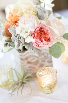 wedding centerpieces - love these flowers!!