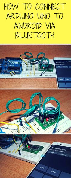 How to Connect Arduino Uno to Android via Bluetooth?