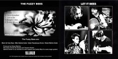 The Fuzzy Bees - Let It Bees EP front and back cover Bees, Drums, Let It Be, Cover, Wood Bees, Drum Sets, Drum, Blankets, Drum Kit