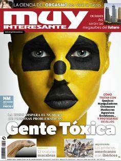 Portada de la revista Muy Interesante del mes de septiembre de 2012: Gente Tóxica. ¡No te la pierdas!