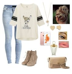 """My outfit"" by dafne-lopez123 ❤ liked on Polyvore featuring Object Collectors Item, Uniqlo, Aéropostale, Kate Spade and UGG Australia"